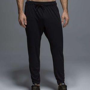 LULULEMON On the Mat Pants medium m black gym yoga